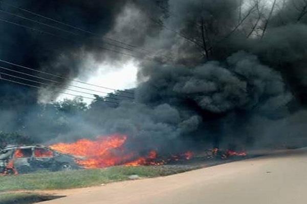 nigeria 18 people die in gas depot explosion