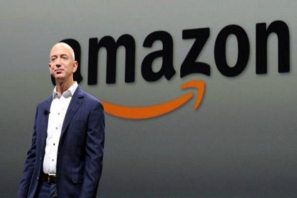 amazon becomes america s second richest company