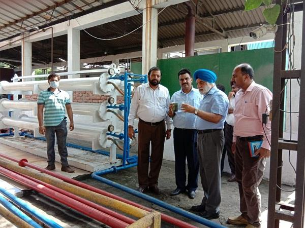dyeing industry
