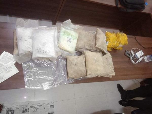 police recovered 38 kilo heroin