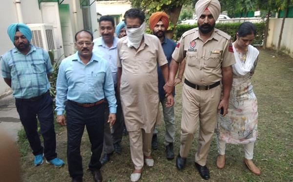 police arrest patwari in bribe case
