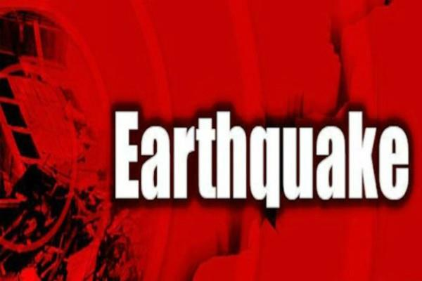 earthquake felt in jammu kashmir and haryana