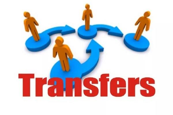 d g p 35 police officers transferred
