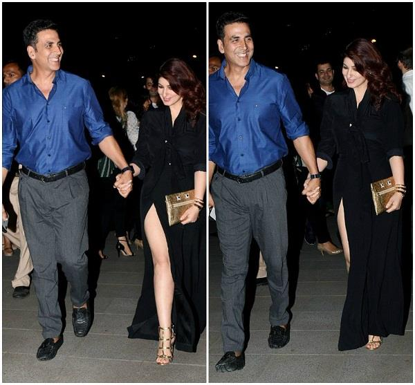 twinkle khanna celebrates husband akshay kumar birthday