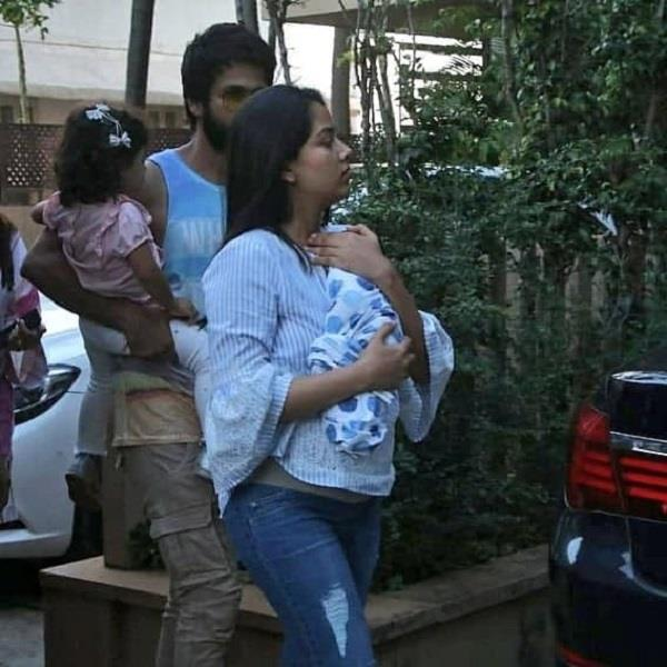 mira kapoor gets discharge from the hospital