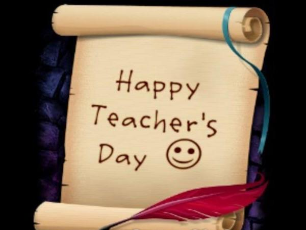 teacher day special