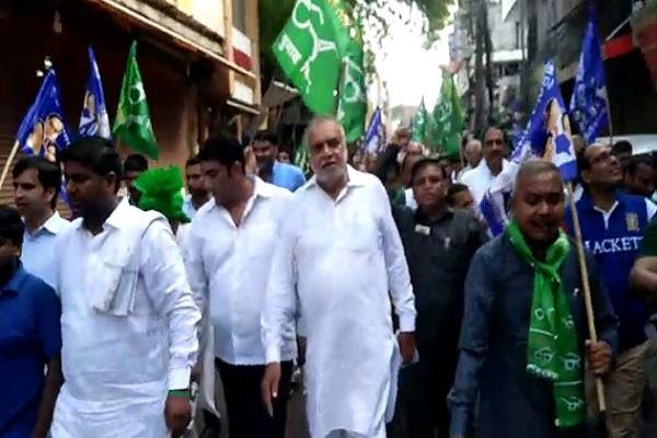 inld and bsp declare haryana shutdown