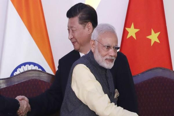 india shocks china
