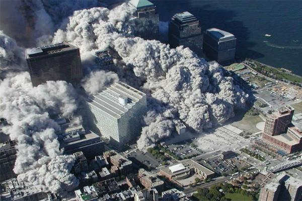 today was the ashes of the world trade center see photoes
