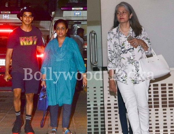 kapoor family at hospital to meet mira