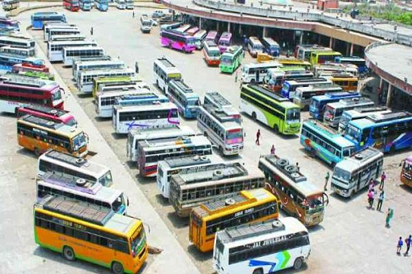 4000 buses in himachal wheels stop