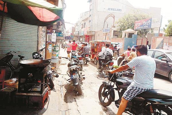 traffic problem of muksar sahib