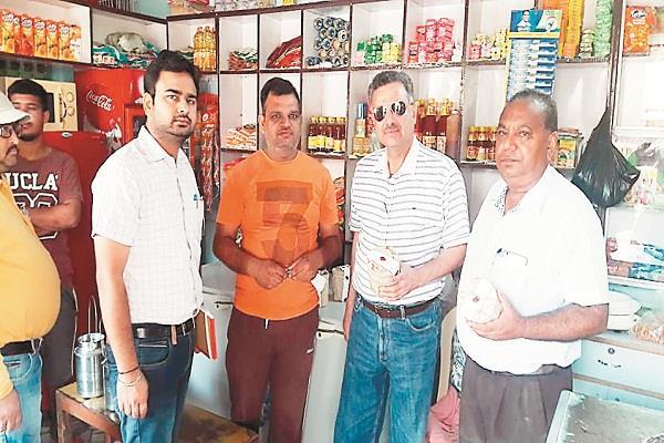 team dairy development  health department samples  milk punjab news