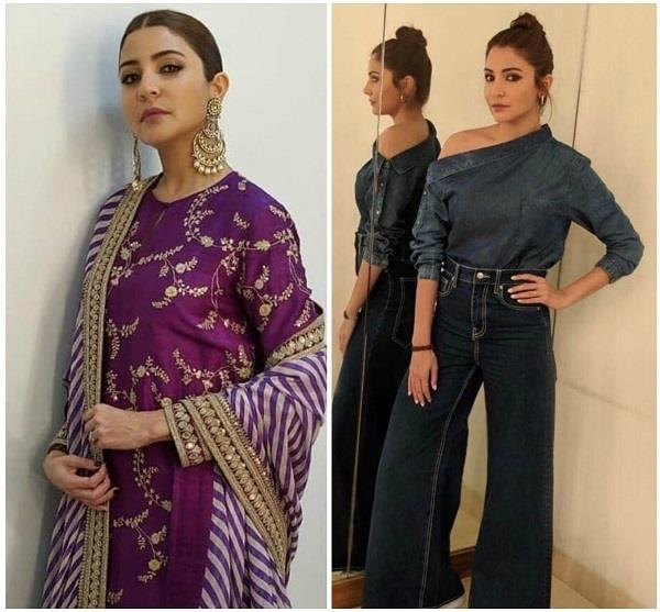 anushka worn these 8 dresses during promotion will be in fashion