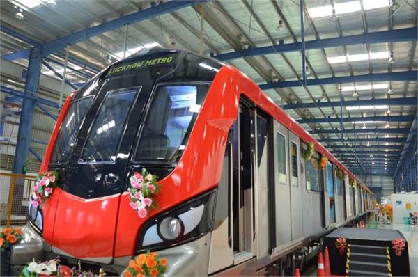 please note the passengers metro will start in lucknow from april 1