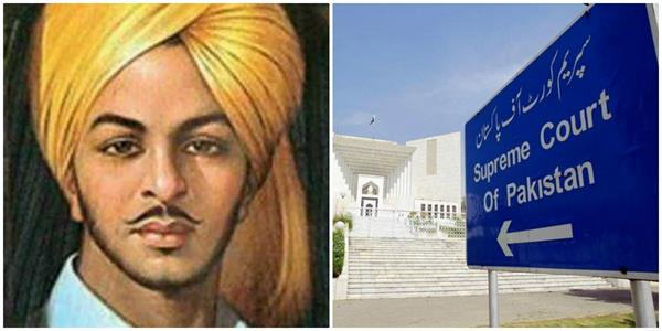 pak court says decide on renaming lahore roundabout after bhagat singh