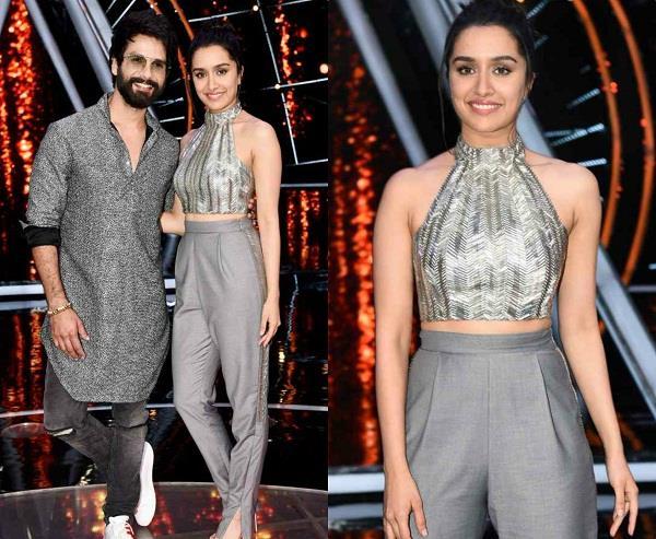 shahid and shraddha on india idol set to promote film batti gull meter chalu