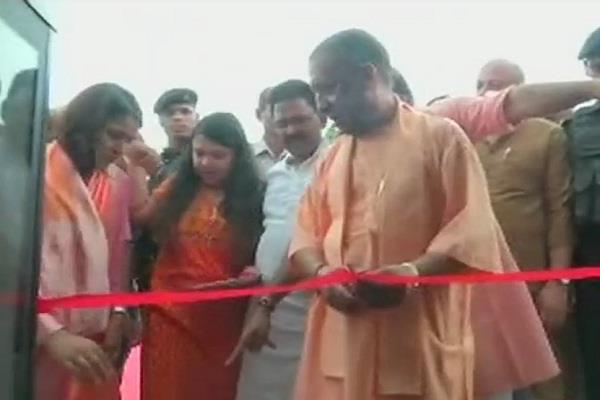 varanasi yogi adityanath inaugurates alaknanda tourist cruise