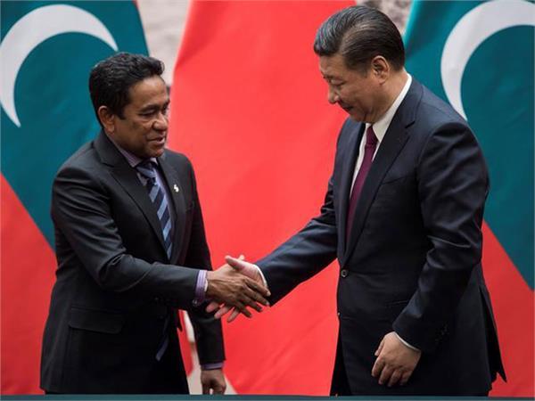 india boycotts inauguration of china funded bridge in maldives