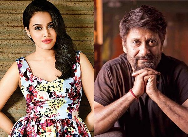 vivek agnihotri tweets false on swara bhaskar