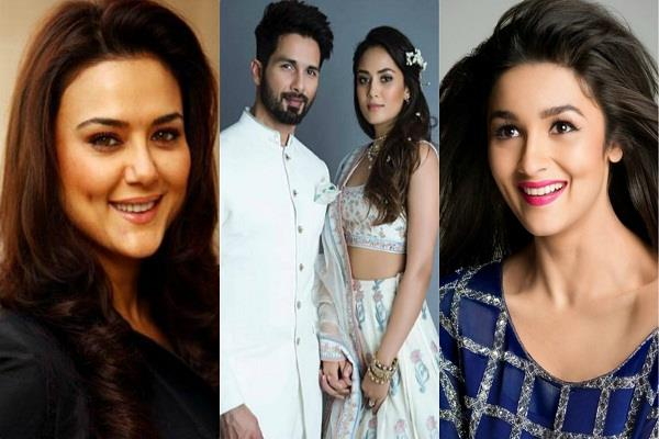 preity and alia congratulates shahid and mira for baby boy