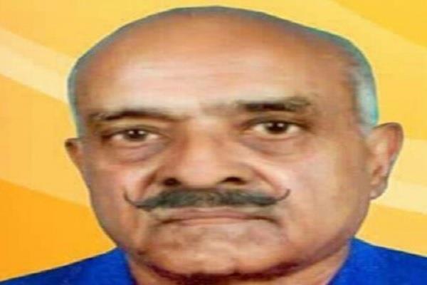 former bjp mla ramesh chandra singh rathore dies