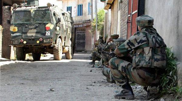 militant attack on army in pulwama