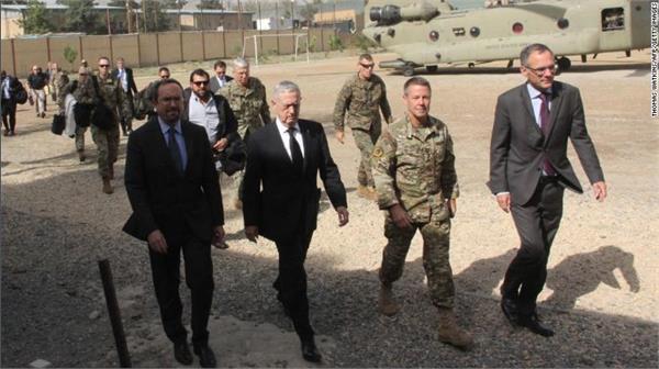 james mattis arrives in afghanistan on surprise visit