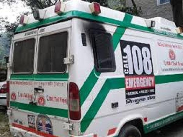 108 ambulance facility available free of cost to patients