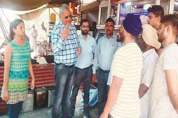 health department checks on sweet shops