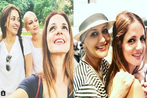 sussanne khan share a picture with sonali bendre