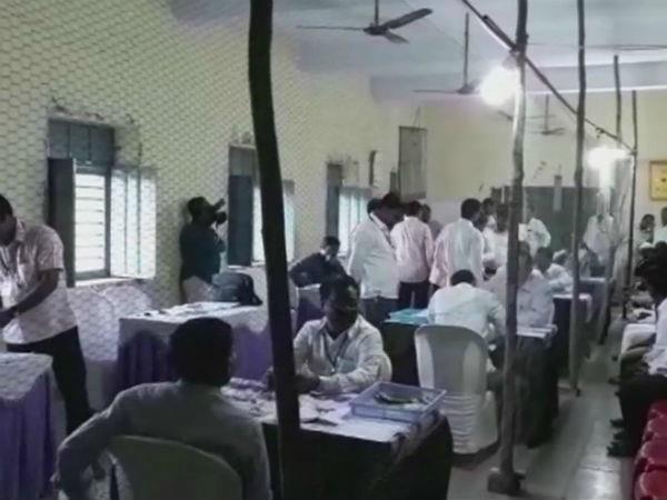 karnataka body election result counting of votes