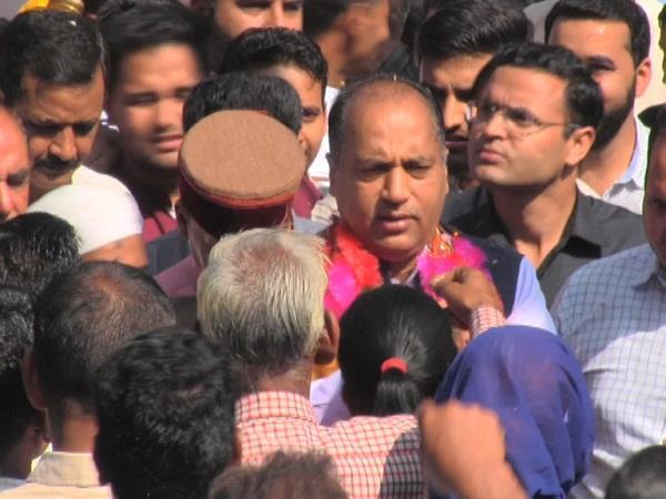 pong displaced to take cm jairam big statement