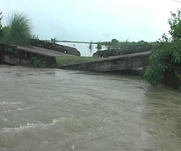 flooding from ganga s elevated water level