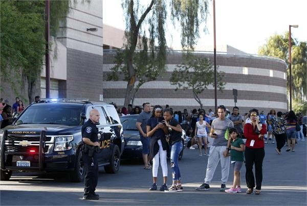 1 man dead in north las vegas school shooting
