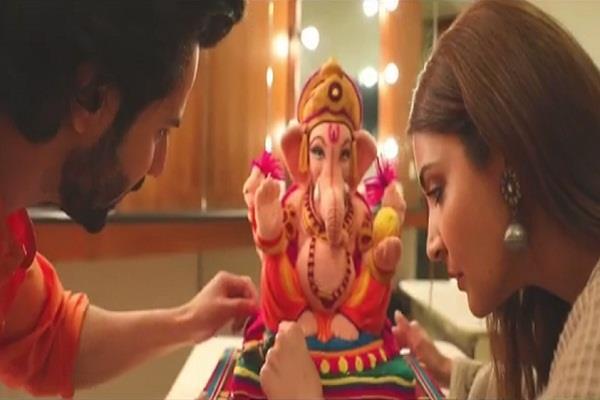 anushka sharma shared eco friendly ganpati bappa