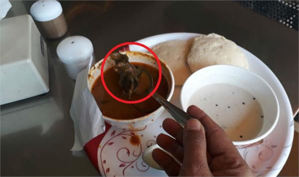 the dead turned out to be in the serving meal to the woman