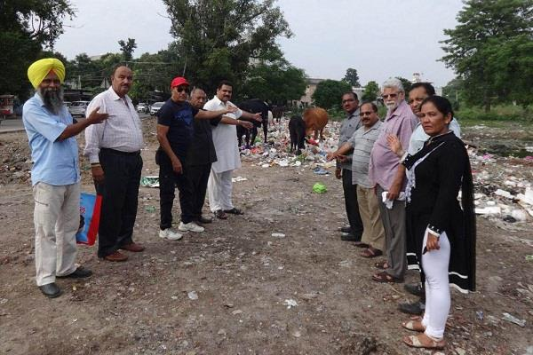 corporation  attitude cleanliness  city punjab news