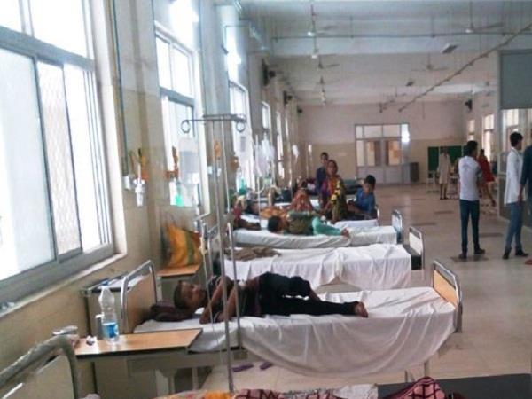 5 case of dengue in daihar positive