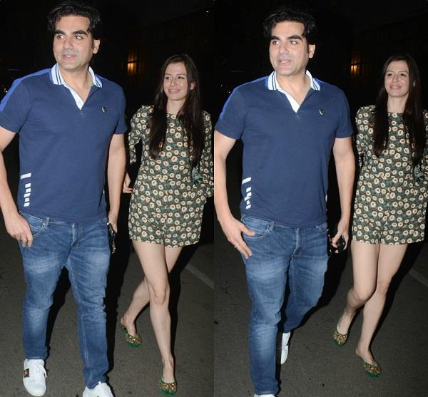 arbaaz khan spotted with girlfriend georgia andriani