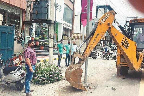 roping of the municipal corporation started