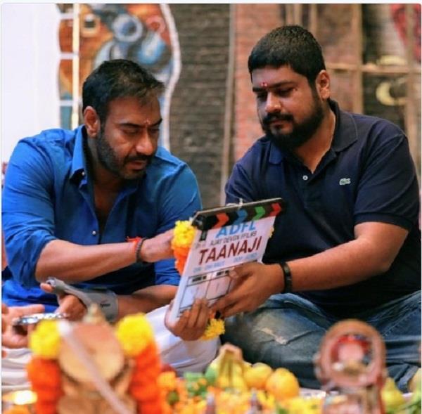ajay devgn starrer taanaji shoot begins