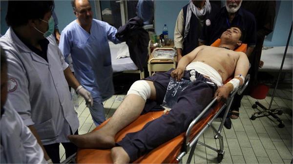 kabul double bombs explode in wrestling club 20 people die