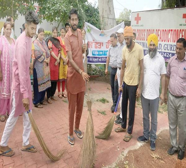 red cross nurse abduction center launches cleanliness campaign