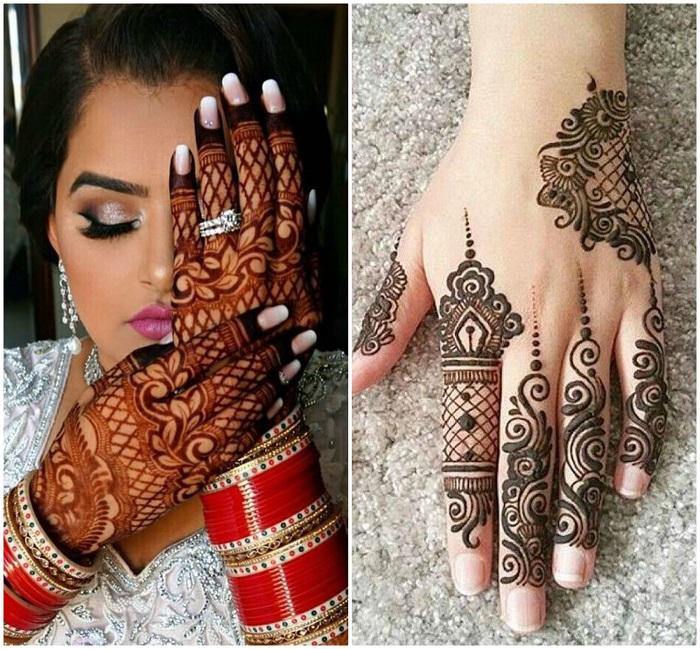 karwa chauth mehndi designs mahanthi photos