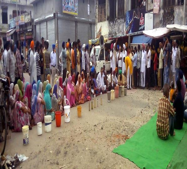 dumping of people from dirty drinking water