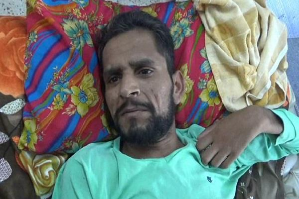no money with parents for the treatment of ailing son