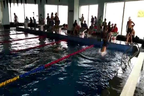 200 km swimming without permission without lodging