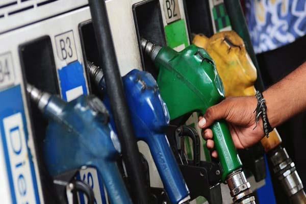 prices of petrol and diesel increased for the 27th consecutive day