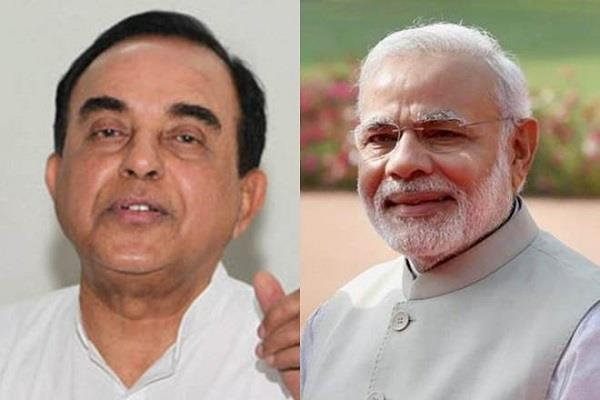 swami raise question on modi government mallya statement